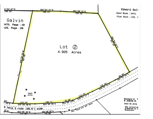 Land for Sale at Green River Road Lot 2 Colrain, Massachusetts 01340 United States