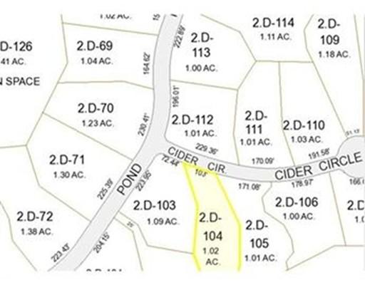 0 Cider Cir, Bolton, MA, 01740