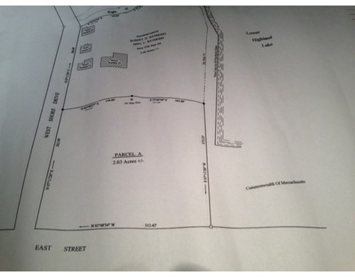 Land for Sale at east street east street Goshen, Massachusetts 01032 United States