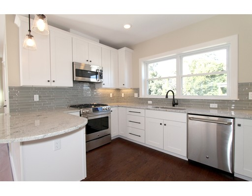 "Jamaica Plain's HOTTEST New Construction Development is now available! 85 Brookley Road offers 3 gorgeous sun-splashed condominiums in a central JP location only minutes to the Green St ""T"" & Forest Hills!  STUNNING OPEN CONCEPT FLOOR PLANS OFFER 3 generous bedrooms with 2 full baths including an en suite Master. Your wish list is complete with: Chef inspired kitchens with Shrock custom soft close cabinets, GE Cafe Appliances w/5 burner gas stove, stone peninsulas, glass tile backslashes, under counter lighting, high efficiency heating/cooling systems, Harvey windows, tall ceilings, recessed lighting, wood floors, great closet space, in-unit laundry hook ups, and 1 car parking!! Each unit has an amazing almost 400sf of exclusive deck space with a master deck and a wrap around rear porch.  This JP location is perfectly situated in between both Forest Hills & Green Street T stations, as well as the SW Corridor bike-path, parks & green space, and nearby hip restaurants & shopping!!"