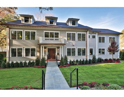 Casa Unifamiliar por un Venta en 127 Fairway Road Brookline, Massachusetts 02467 Estados Unidos