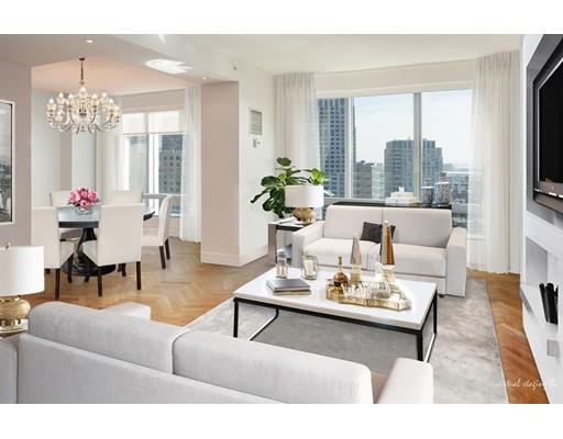 独户住宅 为 出租 在 1 Avery Street 波士顿, 马萨诸塞州 02111 美国