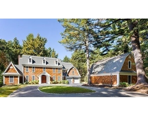Single Family Home for Sale at 400 Concord Road Weston, Massachusetts 02493 United States