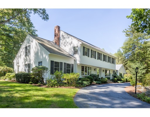 Single Family Home for Sale at 63 Walnut Road Weston, Massachusetts 02493 United States