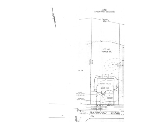 Land for Sale at 12 Harwood Street Natick, Massachusetts 01760 United States