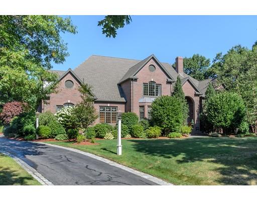 Частный односемейный дом для того Продажа на 8 Twin Post Road Westwood, Массачусетс 02090 Соединенные Штаты