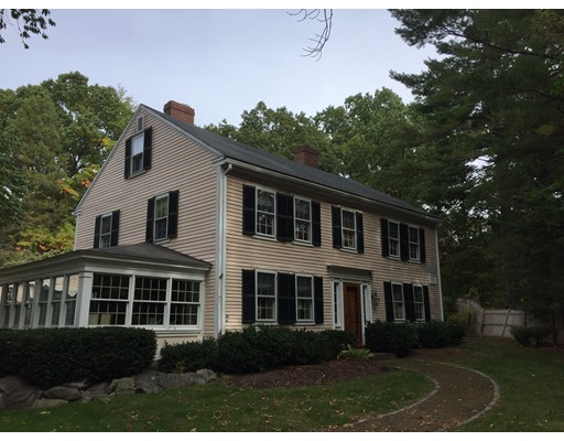 Single Family Home for Sale at 1 Bow Road Wayland, Massachusetts 01778 United States