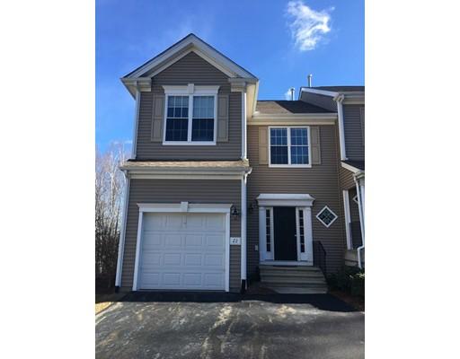 Частный односемейный дом для того Аренда на 22 Daffodil Court Grafton, Массачусетс 01560 Соединенные Штаты