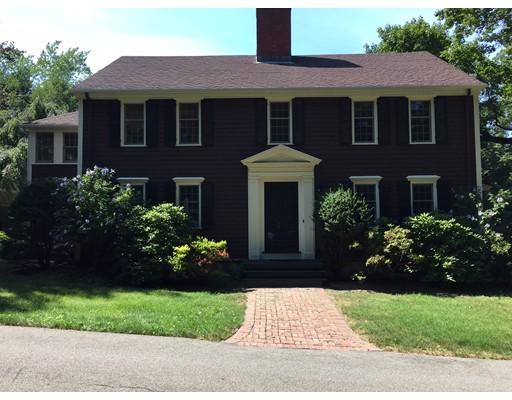 独户住宅 为 出租 在 391 Dedham Street 牛顿, 马萨诸塞州 02459 美国