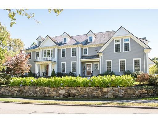 Casa Unifamiliar por un Venta en 80 Monadnock Road 80 Monadnock Road Wellesley, Massachusetts 02481 Estados Unidos