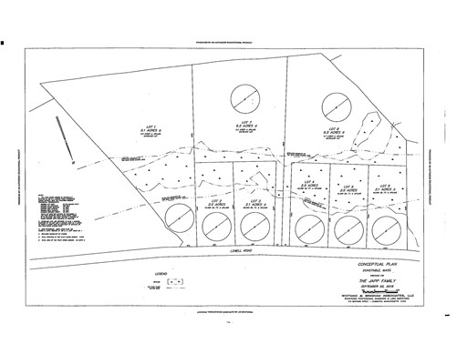 Land for Sale at 1 Lots 1-6 Lowell Street Dunstable, Massachusetts 01827 United States