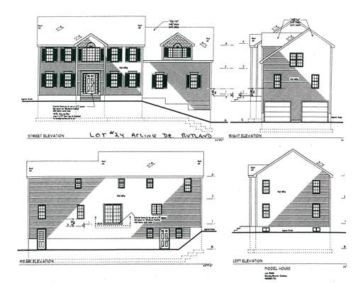Частный односемейный дом для того Продажа на 24 Arline Drive 24 Arline Drive Rutland, Массачусетс 01543 Соединенные Штаты