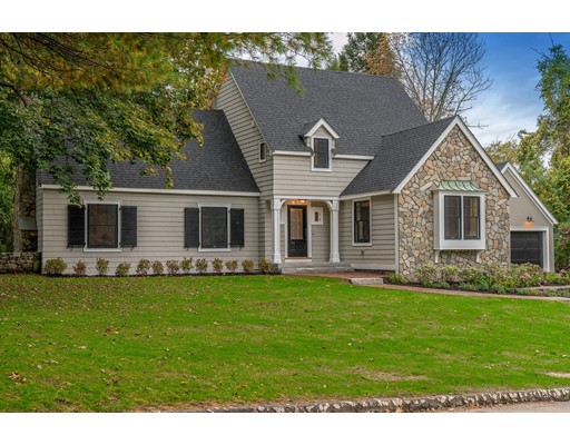 Single Family Home for Sale at 93 Country Club Lane Belmont, Massachusetts 02478 United States