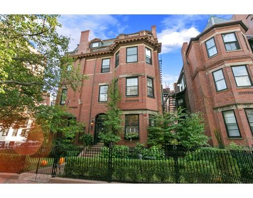 Casa de pueblo / Apartamentos por un Alquiler en 282 Marlborough Street 282 Marlborough Street Boston, Massachusetts 02116 Estados Unidos