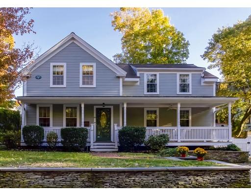 Casa Unifamiliar por un Venta en 66 Highland Street Dedham, Massachusetts 02026 Estados Unidos