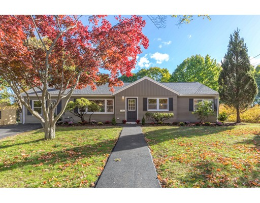 Single Family Home for Sale at 11 Wethersfield Road Natick, Massachusetts 01760 United States