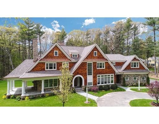 واحد منزل الأسرة للـ Sale في 100 Black Oak Road Weston, Massachusetts 02493 United States