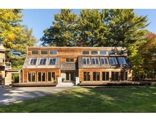 Maison unifamiliale pour l Vente à 178 South Road Bedford, Massachusetts 01730 États-Unis