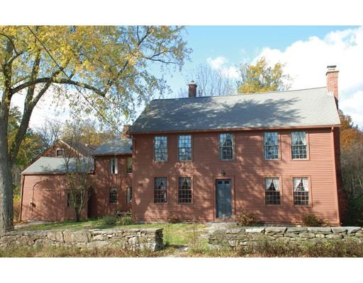Maison unifamiliale pour l Vente à 5 Old Common Millbury, Massachusetts 01527 États-Unis
