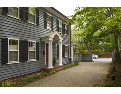 Single Family Home for Rent at 1 Garden Lane Cambridge, Massachusetts 02138 United States