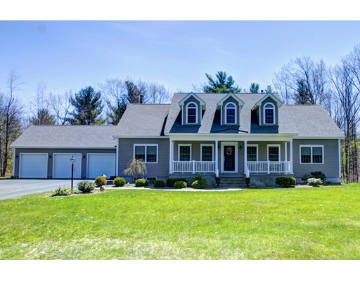 Casa Unifamiliar por un Venta en 492 Piper Road 492 Piper Road Ashby, Massachusetts 01431 Estados Unidos
