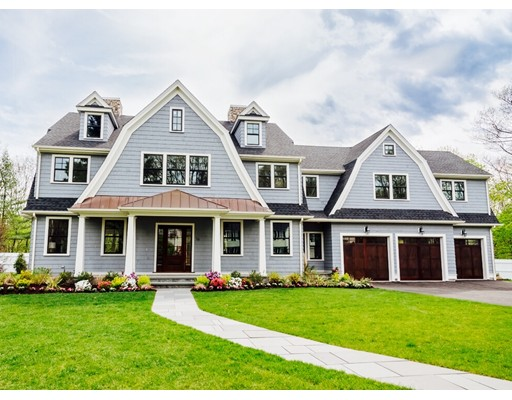Single Family Home for Sale at 16 Mountview Road 16 Mountview Road Wellesley, Massachusetts 02481 United States