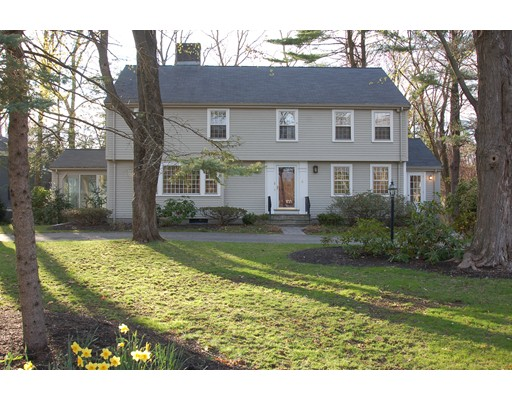 Single Family Home for Rent at 4 Falmouth Road Wellesley, Massachusetts 02481 United States
