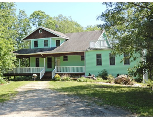 Casa Unifamiliar por un Venta en 43 Mill Road West Brookfield, Massachusetts 01585 Estados Unidos