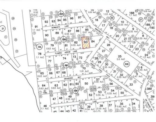 Terrain pour l Vente à Flaming Arrow Lane Flaming Arrow Lane Becket, Massachusetts 01223 États-Unis