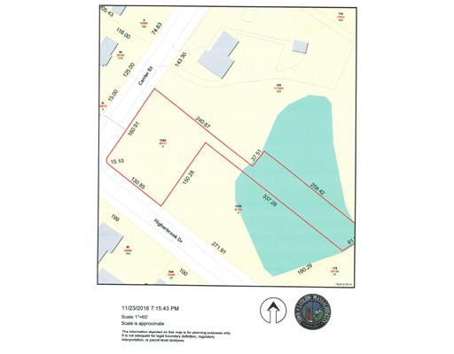 Lot A Higher Brook Drive, Ludlow, MA 01056