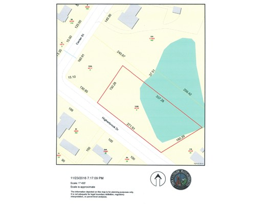 Lot B Higher Brook Drive, Ludlow, MA 01056