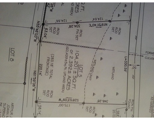 Land for Sale at 122 Fenton Road Monson, 01057 United States