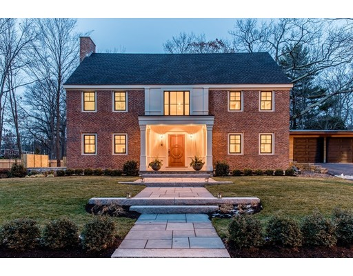 Single Family Home for Sale at 265 Woodland Road Brookline, Massachusetts 02467 United States
