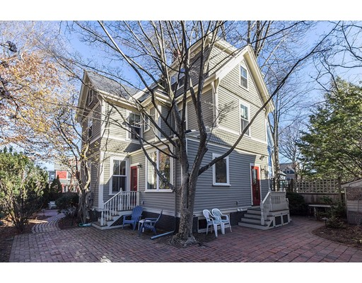 Single Family Home for Rent at 14 Linnaean Street Cambridge, Massachusetts 02138 United States