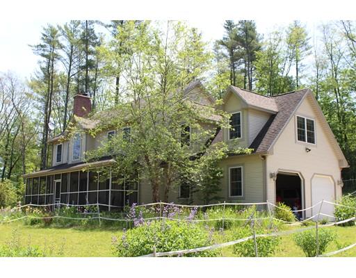 Maison unifamiliale pour l Vente à 838 Muddy Brook Road Hardwick, Massachusetts 01037 États-Unis