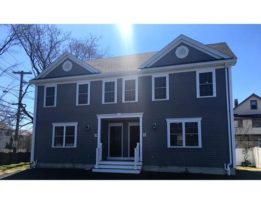 Condominium for Sale at 30 Woodruff Avenue Medford, Massachusetts 02155 United States