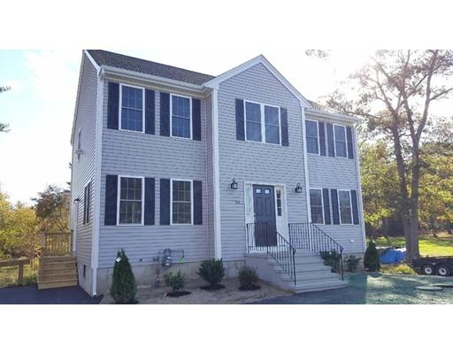 Частный односемейный дом для того Продажа на 56 Pleasant Street Carver, Массачусетс 02330 Соединенные Штаты