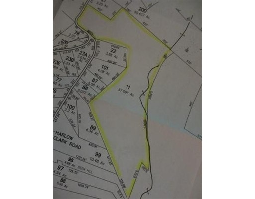 Terreno por un Venta en County Road/ Harlow Clark Huntington, Massachusetts 01050 Estados Unidos