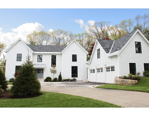 Single Family Home for Sale at 22 Lathrop Road Wellesley, Massachusetts 02482 United States
