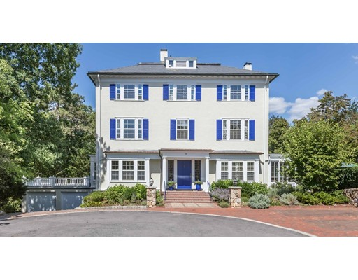 Single Family Home for Sale at 58 Welch Road Brookline, Massachusetts 02445 United States