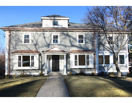Single Family Home for Sale at 21 Winthrop Road Belmont, Massachusetts 02478 United States