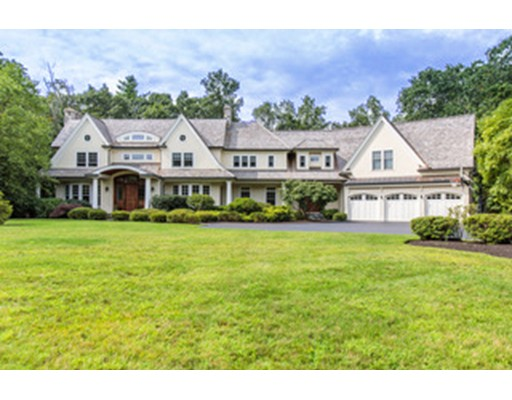 Single Family Home for Sale at 300 Glen Road Weston, Massachusetts 02493 United States