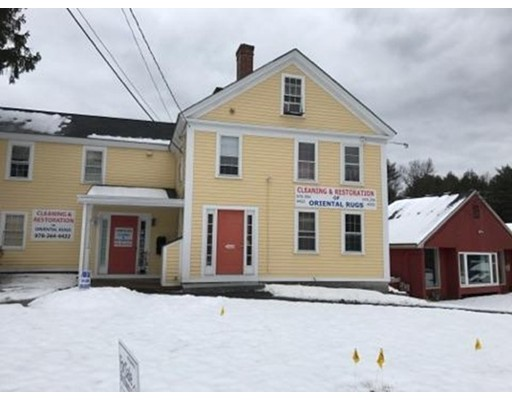 Commercial pour l Vente à 292 Great Road Acton, Massachusetts 01720 États-Unis
