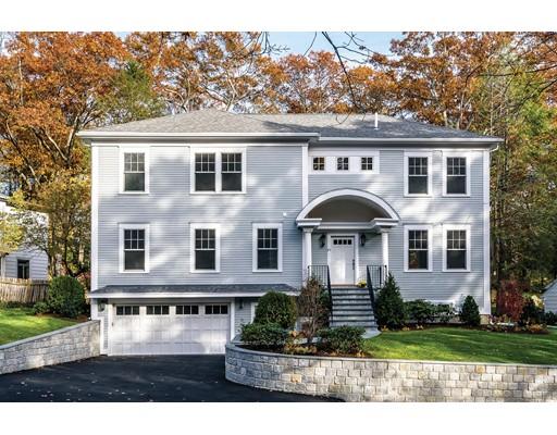 Single Family Home for Sale at 89 Arlington Road Brookline, Massachusetts 02467 United States