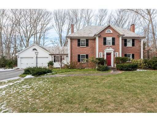 Single Family Home for Sale at 1 Bennett Road Wayland, Massachusetts 01778 United States