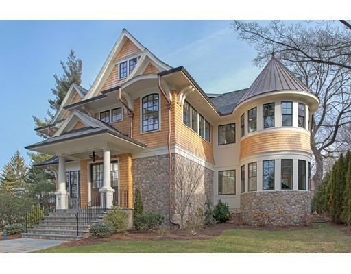 Single Family Home for Sale at 88 Hyde Avenue Newton, Massachusetts 02458 United States