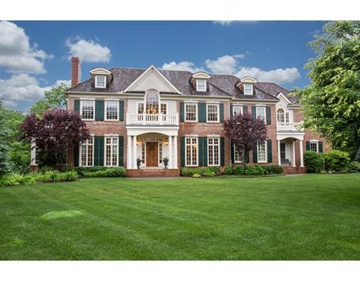 Maison unifamiliale pour l Vente à 3 Stonefield Lane Wellesley, Massachusetts 02482 États-Unis
