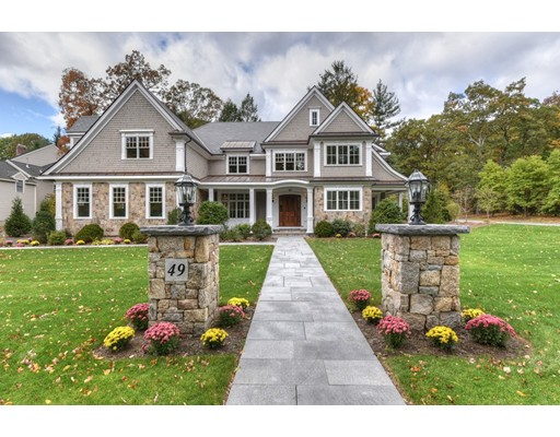 Single Family Home for Sale at 49 Bristol Road Wellesley, Massachusetts 02481 United States