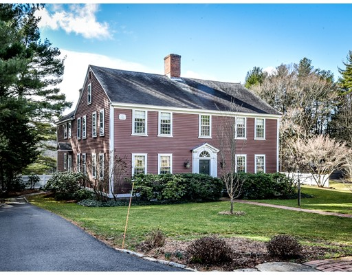 Casa Unifamiliar por un Venta en 148 Farm Road Sherborn, Massachusetts 01770 Estados Unidos