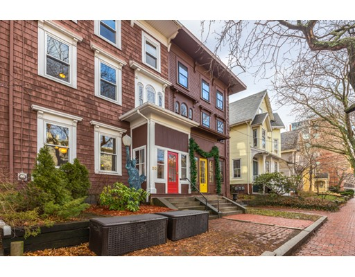 Single Family Home for Sale at 20 Lee Street Cambridge, Massachusetts 02139 United States